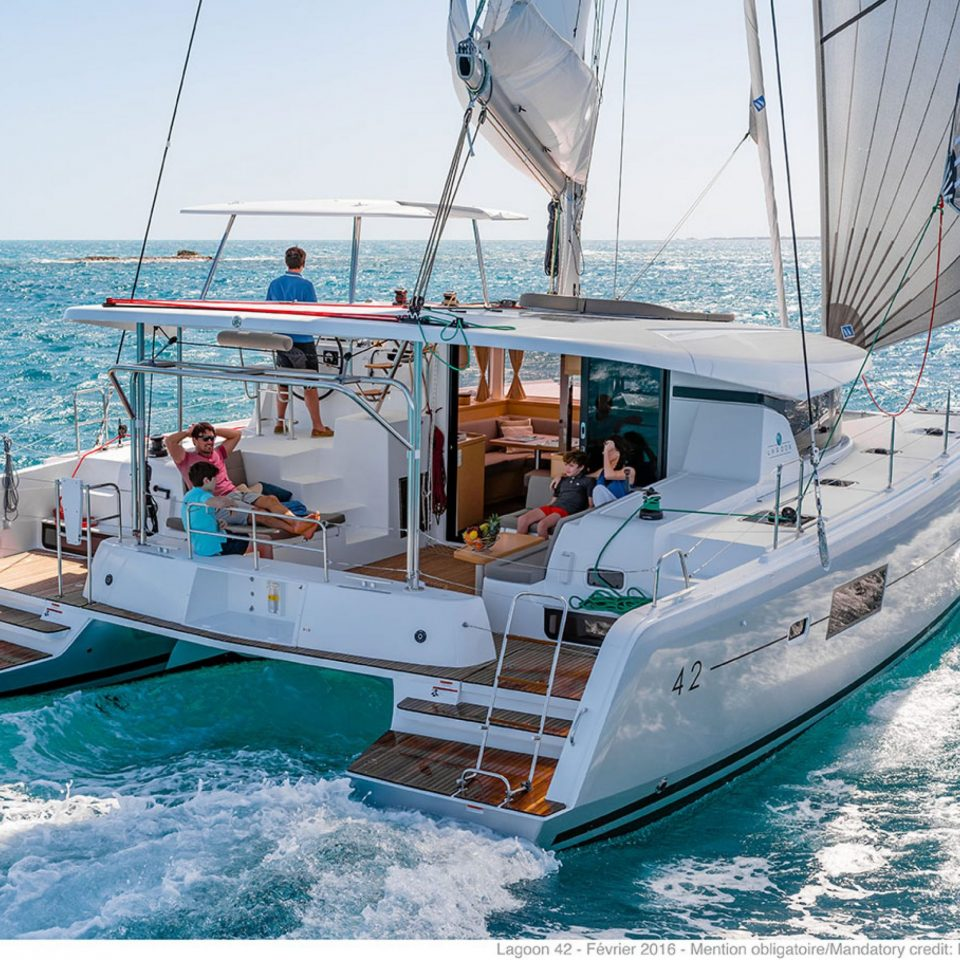 Skippered charter in Thailand, let the skipper do the navigation with you