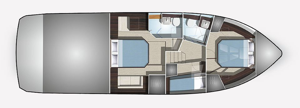 Layout of Galeon 460 thailand