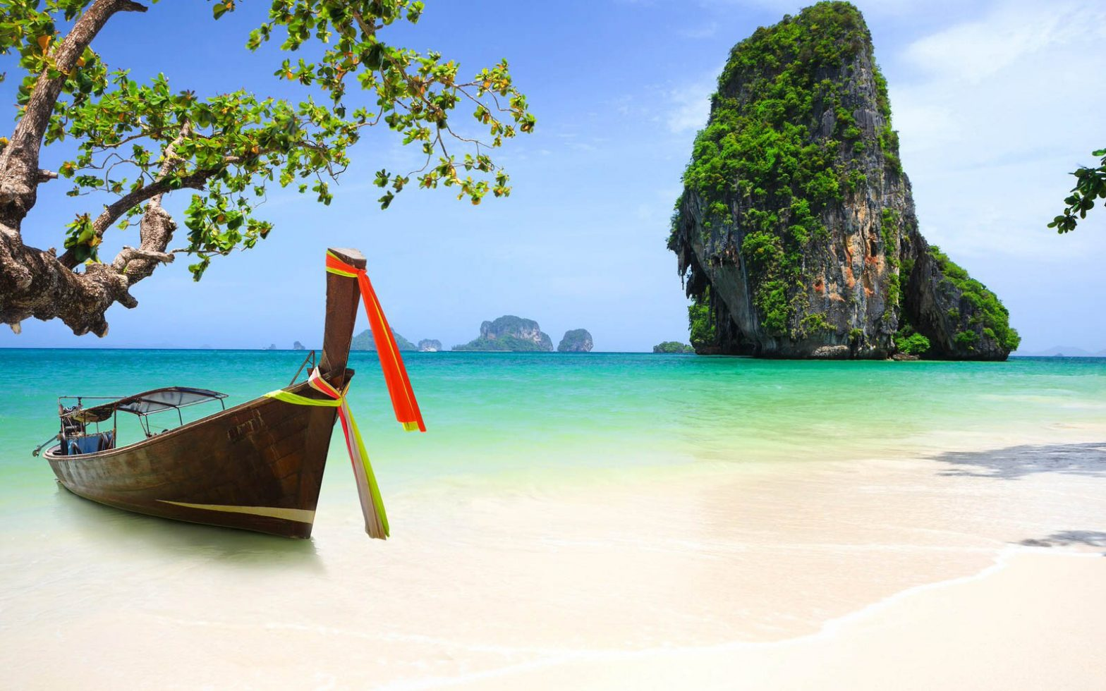 Thailand and long tail boats