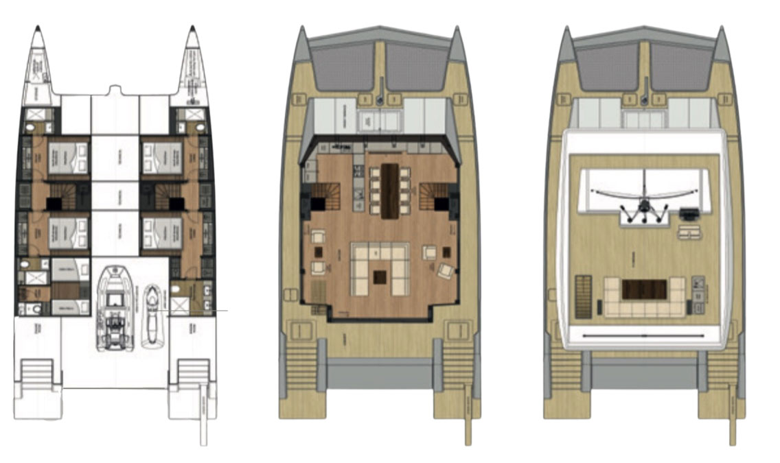Sunreef 68 floor plan