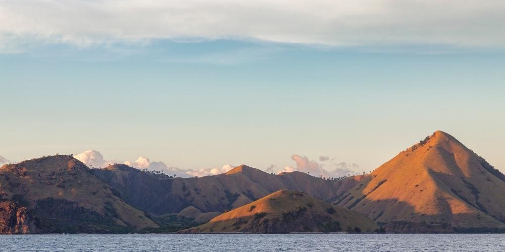 Kelor's landscape from a liveaboard